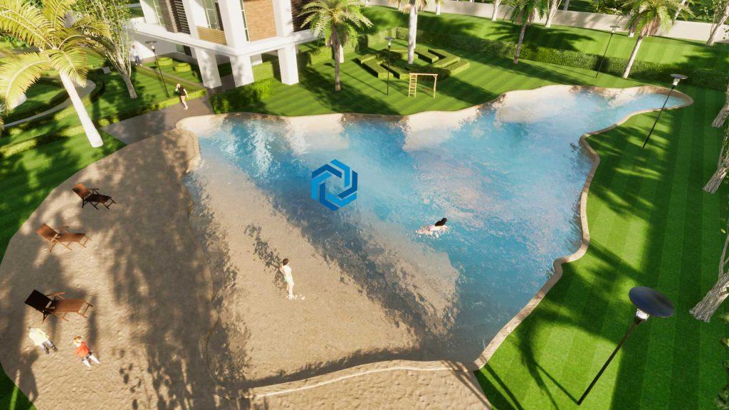 Revestimiento Piscinas Arena En Pool Coverings construimos Piscina completa